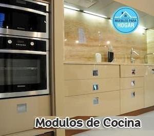 Módulos para cocina