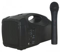 Micrófono con altavoz